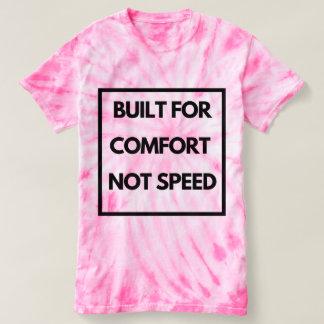 T-shirt Drôle - construit pour la vitesse de confort pas