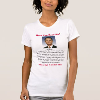 T-shirt drôle d'Anthony Weiner