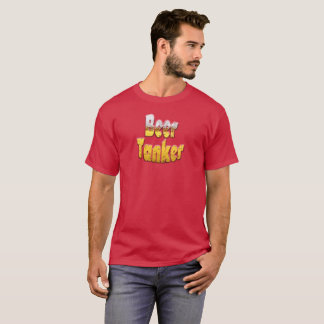 T-shirt drôle de bateau-citerne de bière
