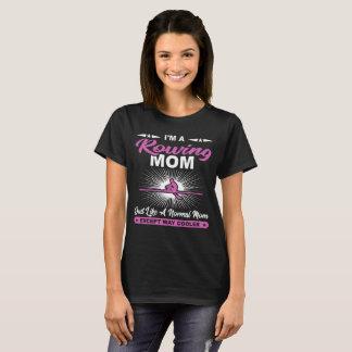T-shirt drôle de cadeau de rameurs de maman