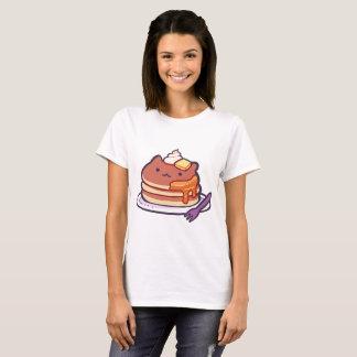 T-shirt drôle de crêpes de chat