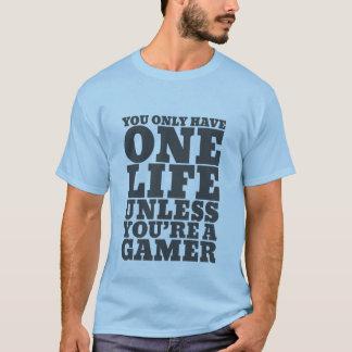 T-shirt drôle de Gamers pour des ballots de jeux