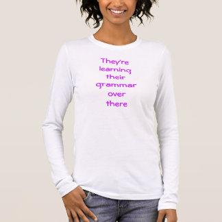 T-shirt drôle de grammaire