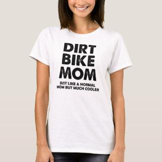 T-shirt drôle de motocross de maman de vélo de