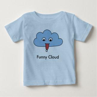 T-shirt drôle de nourrisson de nuage