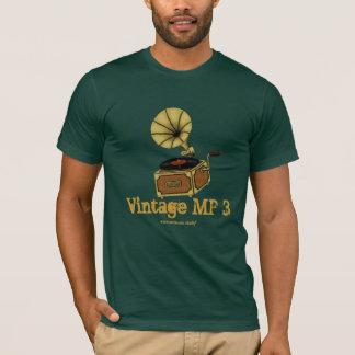 T-shirt drôle de phonographe vintage frais