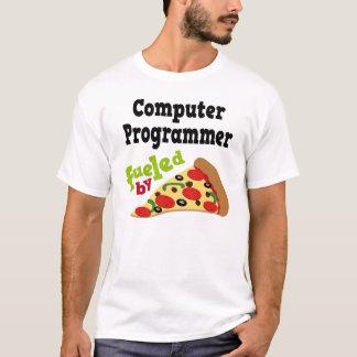 T-shirt (drôle) de pizza d'informaticien