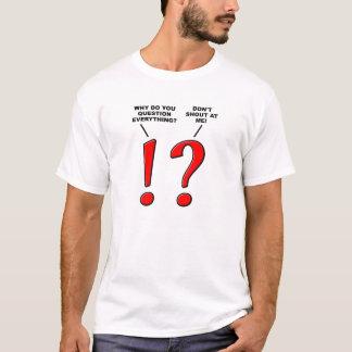 T-shirt drôle de ponctuation