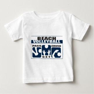 T-shirt drôle de volleyball de plage