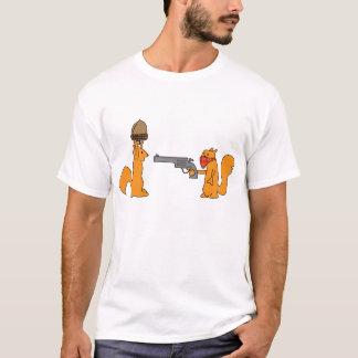 T-shirt drôle d'écureuil