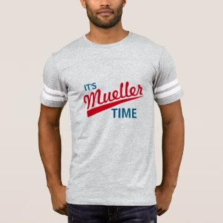 """T-shirt Drôle """"il est temps de Mueller """""""