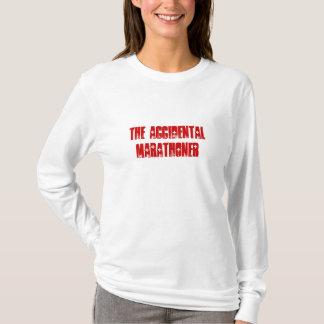 T-shirt drôle pour le Marathoner accidentel