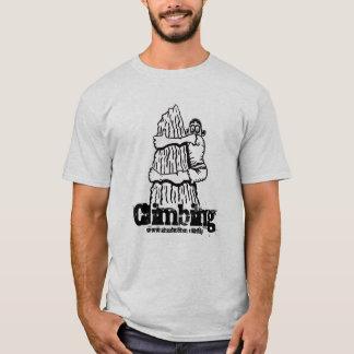 T-shirt drôle s'élevant