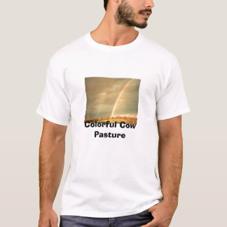 T-shirt DS2_0198, pâturage coloré de vache