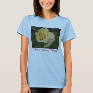 T-shirt DSC00081, rose jaune du Texas