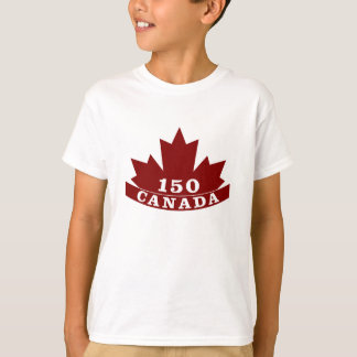 T-shirt du Canada 150 d'enfants