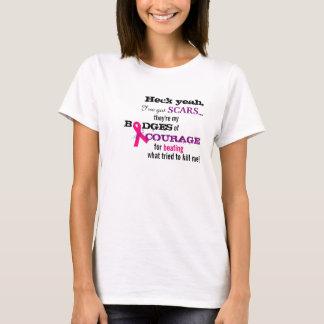 T-shirt du cancer du sein BRCA !