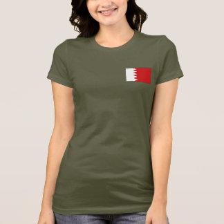 T-shirt du DK de drapeau et de carte du Bahrain