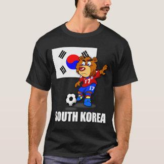 T-shirt du football de la Corée du Sud d'équipe