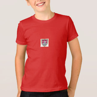 T-shirt du football des Etats-Unis