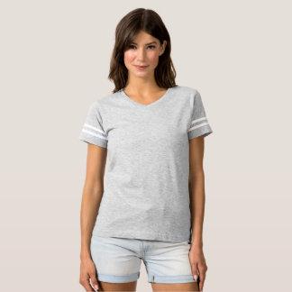 T-shirt du football des femmes