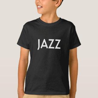 T-shirt du jazz des enfants (classique) par
