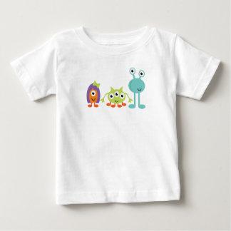 T-shirt du Jersey d'amende de bébé d'aliens
