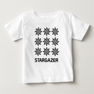 T-shirt du Jersey d'amende de bébé d'astronome
