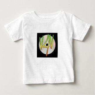 T-shirt du Jersey d'amende de bébé de logo de