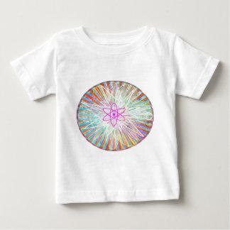 T-shirt du Jersey d'amende de bébé de puissance