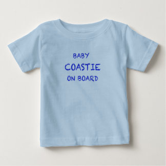 T-shirt du Jersey d'amende de bébé d'USCG