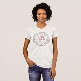 T-shirt du Jersey d'amende de drame de période de