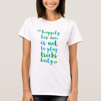 T-shirt du jour de Patrick de saint
