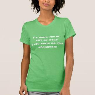 T-shirt du jour de Patrick de saint des femmes