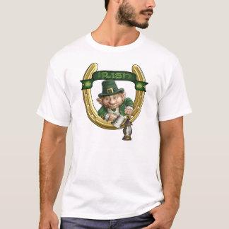 T-shirt du jour de St Patrick irlandais de lutin