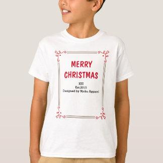 "T-shirt du Joyeux Noël des enfants de Njoku"""