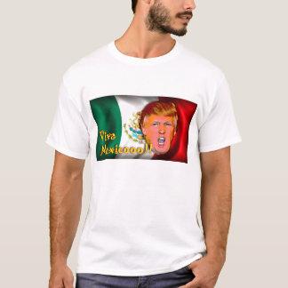 T-shirt du Mexique de vivats d'atout d'Anti-Donald