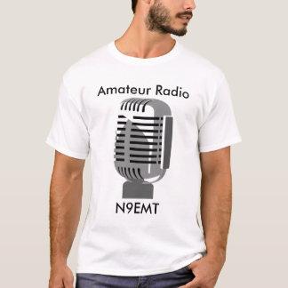 T-shirt du microphone 1 de style ancien