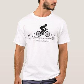 T-shirt du mille six des hommes