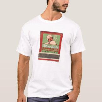 T-shirt du restaurant de Martini