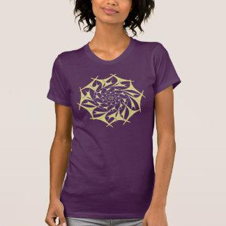 T-shirt du vortex v2 de chrysanthème