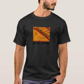 T-shirt Du Zimbabwe chemise aujourd'hui