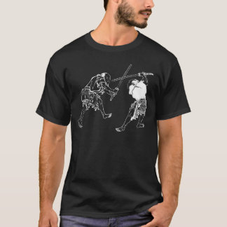 T-shirt Duelers de Hokusai
