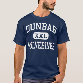 T-shirt Dunbar - Wolverines - lycée - Dayton Ohio