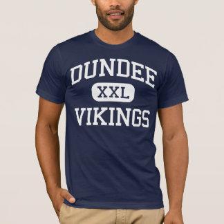T-shirt Dundee - Vikings - lycée - Dundee Michigan
