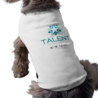 T-shirt d'unité de chiot de paradigme de talent