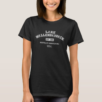 T-shirt d'université de Wallenpaupack de lac