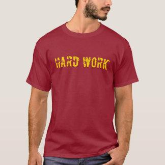 T-shirt Dur labeur - éponge