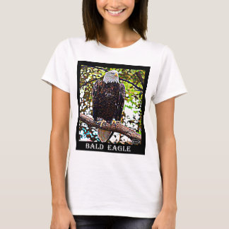 T-shirt Eagle chauve (oiseau national)