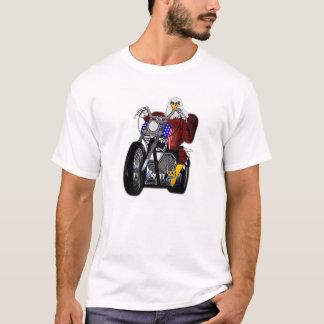 T-shirt Eagle/couperet/Tour jumelle V-jumelle